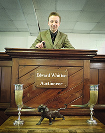 Ed Whitton, Auctioneer